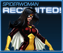 Spider-Woman Recruited Old