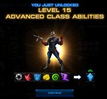 L15 Unlocked Class Abilities Screenshot