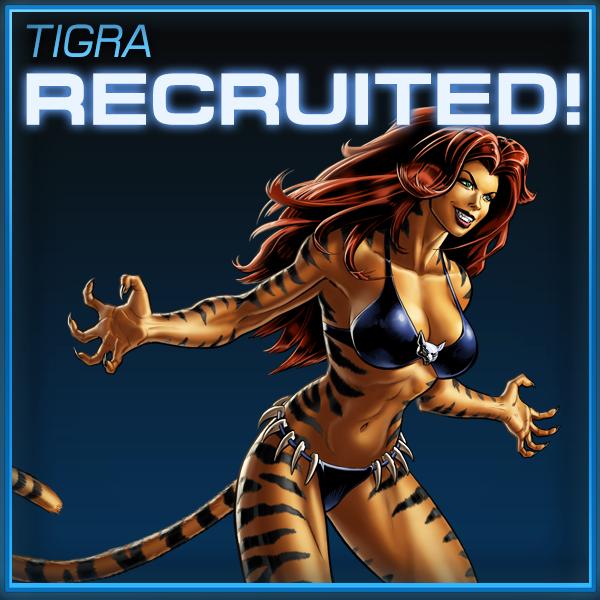 Tigra marvel avengers alliance pvp prizes