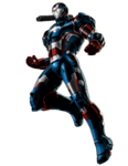 Iron Patriot Rüstung Portrait Art