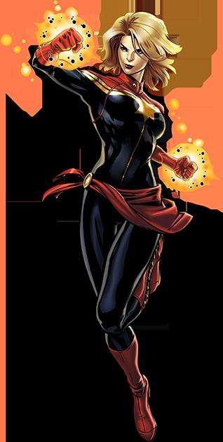 captain marvel avenger