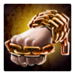 Hardened Chain Wrapped Fist
