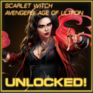 Scarlet Witch Avengers Age of Ultron Unlocked