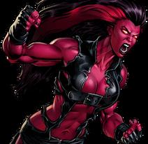 Red She-Hulk Banner