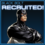 Black Bolt Recruited