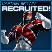 Captain Britain Recruited
