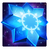 Iso-8 Crystal Blue