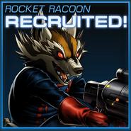 Rocket Raccoon Recruited