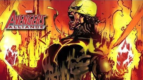 IRON FIST's Moves Set - Marvel Avengers Alliance - Conjunto de Movimientos de Puño de Hierro - Rand