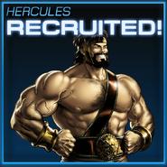 Hercules Recruited