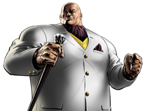 Kingpin Portrait Art