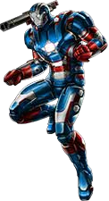 Iron Patriot Rüstung