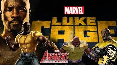 LUKE CAGE's Moves Set Marvel Avengers Alliance Conjunto de Movimientos de Power Man Carl Lucas MAA