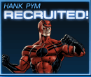 Hank Pym Recruited Old