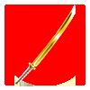 Gold-Katana