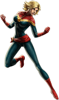 Ms. Marvel-Captain Marvel
