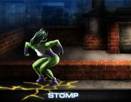 She-Hulk Level 9 Ability