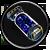 Instabiles Iso-8 Dunkelblau Task Icon