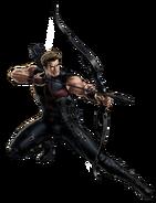 Avengers Hawkeye Portrait Art