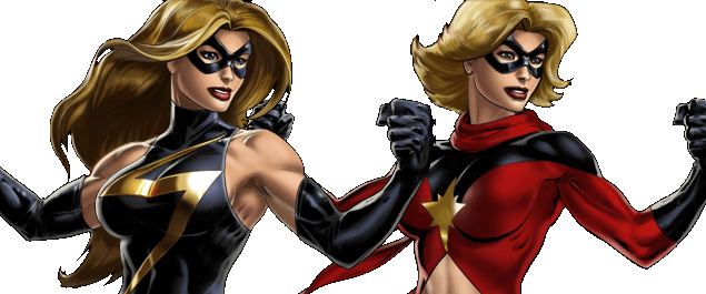 Ms. Marvel Banner Multi