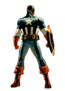 Captain America Marvel XP Old