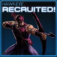 Hawkeye Recruited