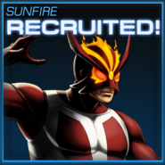 Sunfire Recruited