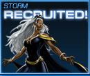 Storm Recruited Old