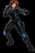 Avengers Age of Ultron Black Widow Portrait Art