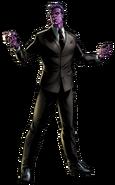 Purple Man Portrait Art