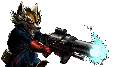 Rocket Raccoon Banner