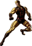 Original Daredevil Right Portrait Art