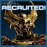 Heimdall Recruited