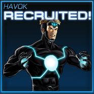 Havok Recruited