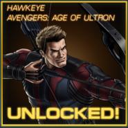 Hawkeye Avengers Age of Ultron Unlocked