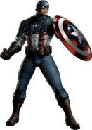 WWII Captain America Portrait Art