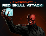 Red Skull Group Boss Wall Post