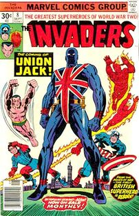 The Invaders comic