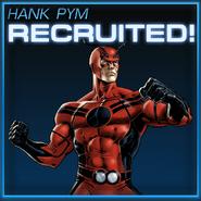 Hank Pym Recruited