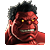 Red Hulk Icon 1
