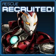 Rescue Recruited
