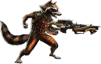 Rocket Raccoon Guardian