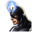 Black Bolt Icon