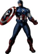 Captain America-B Portrait Art