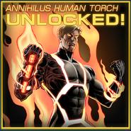 Human Torch Annihilus Unlocked