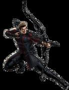 Avengers Age of Ultron Hawkeye Portrait Art