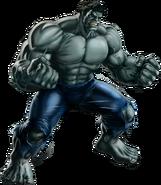 Grey Hulk Portrait Art