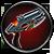 Unverfeinerten Echotechnik-Blaster Task Icon