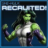 She-Hulk Recruited