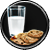 Plätzchen und Milch Task Icon